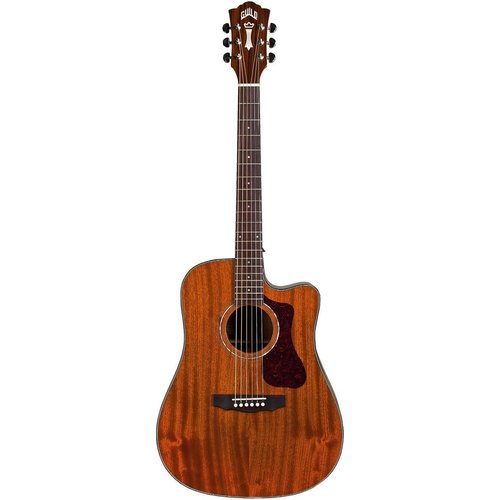 Guild Guild D-120CE, Electro-Acoustic, All Solid Mahogany, Natural Gloss