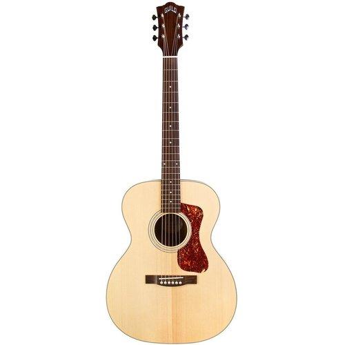 Guild Guild OM-240E, Electro-Acoustic, Solid Sitka Spruce Top, Mahogany Back, Natural Satin
