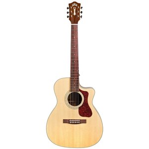 Guild OM-140CE, Electro-Acoustic, All Solid, Sitka Spruce Top, Mahogany Back, Natural Gloss