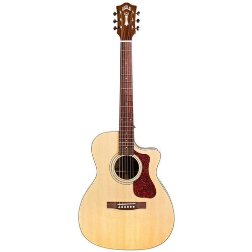 Guild Guild OM-140CE, Electro-Acoustic, All Solid, Sitka Spruce Top, Mahogany Back, Natural Gloss