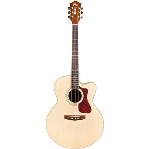 Guild F-150CE, Electro-Acoustic, All Solid, Sitka Spruce Top, Rosewood Back, Natural Gloss
