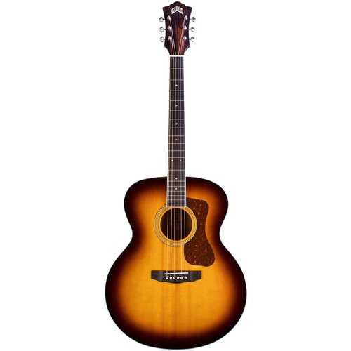Guild Guild F-250E Deluxe Maple ATB, Solid Sitka Spruce Top, Flamed Maple Back, Antique Burst Gloss