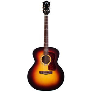 Guild F-40E ATB, Electro-Acoustic, All Solid, Sitka Spruce Top, Mahogany Back, Antique Burst Satin