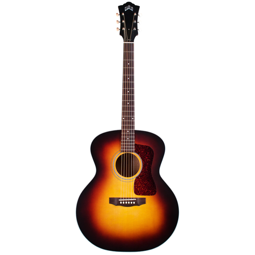Guild Guild F-40E ATB, Electro-Acoustic, All Solid, Sitka Spruce Top, Mahogany Back, Antique Burst Satin