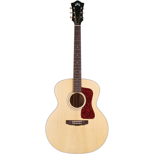 Guild Guild F-40E, Electro-Acoustic, All Solid, Sitka Spruce Top, African Mahogany Back, Natural Satin