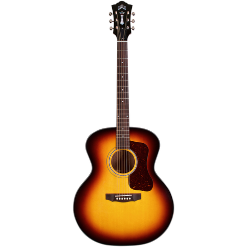 Guild Guild F-40 Traditional ATB, All Solid, Sitka Spruce Top, African Mahogany Back, Antique Burst Nitro