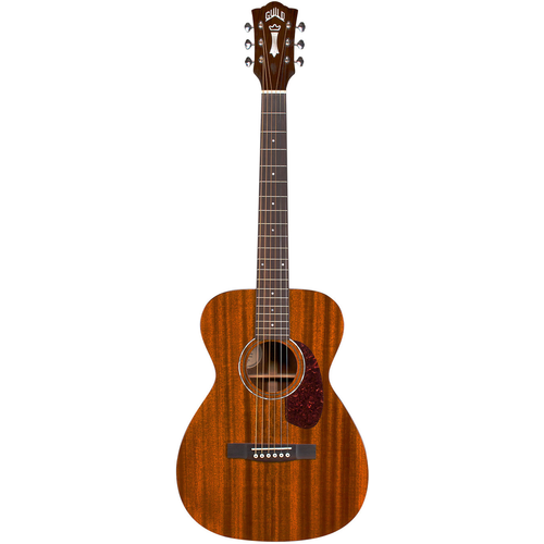 Guild Guild M-120E, Electro-Acoustic, All Solid Mahogany, Natural Gloss