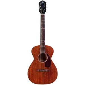 Guild M-20, All Solid Mahogany, Natural Satin
