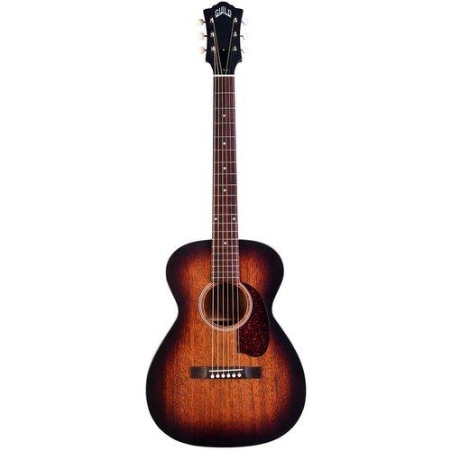 Guild Guild M-20E VSB, Electro-Acoustic, All Solid Mahogany, Vintage Sunburst Satin