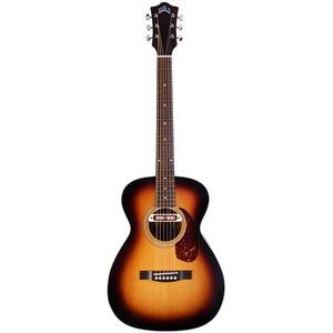 Guild M-240E Troubadour, Electro-Acoustic, Solid Sitka Spruce Top, Mahogany Back, Vintage Sunburst Satin
