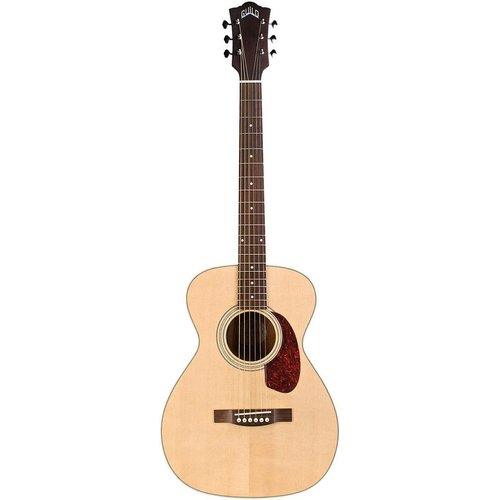Guild Guild M-240E, Electro-Acoustic, Solid Sitka Spruce Top, Mahogany Back, Natural Satin