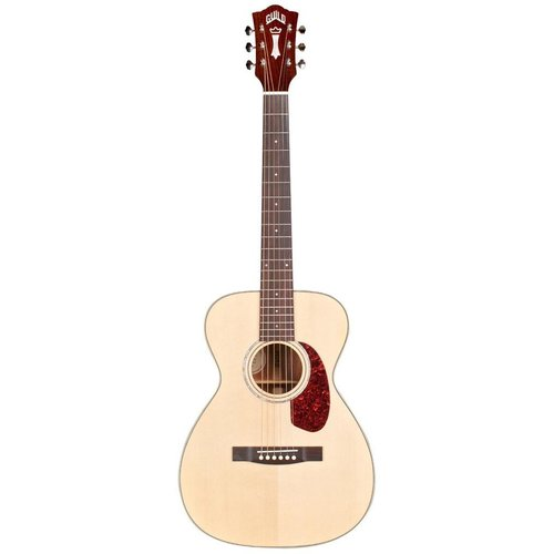 Guild Guild M-140E, Electro-Acoustic, All Solid, Sitka Spruce Top, Mahogany Back, Natural Gloss