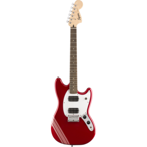 Squier FSR Bullet Competition Mustang HH, Candy Apple Red