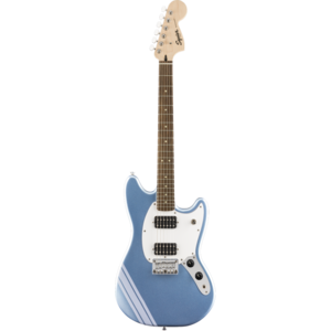 Squier FSR Bullet Competition Mustang HH, Lake Placid Blue