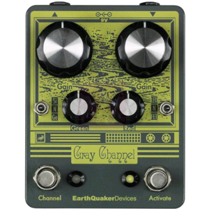 Earthquaker Devices Gray Channel Overdrive Effects Pedal