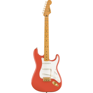 Squier FSR Classic Vibe '50s Stratocaster, Fiesta Red w/ Gold Hardware