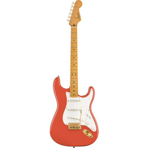 Squier Squier FSR Classic Vibe '50s Stratocaster, Fiesta Red w/ Gold Hardware