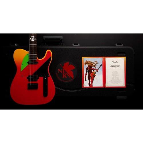 Fender Fender Japan 2020 Evangelion Asuka Telecaster