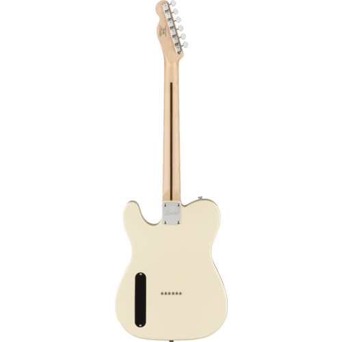 Squier Squier Paranormal Cabronita Telecaster Thinline, Maple Fingerboard, Olympic White