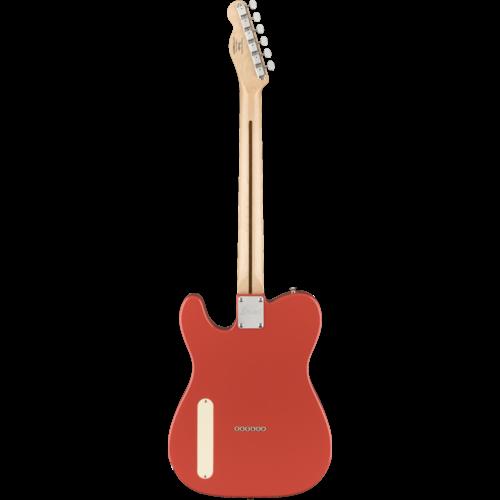 Squier Squier Paranormal Cabronita Telecaster Thinline, Maple Fingerboard, Fiesta Red