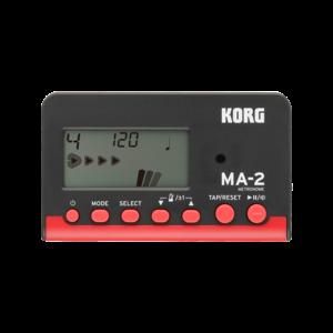 Korg MA-2 Digital Metronome in Black/Red