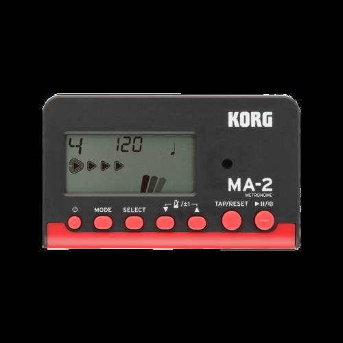 Korg Korg MA-2 Digital Metronome in Black/Red