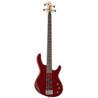 Cort Action PJ Bass Guitar, Open Pore Black Cherry