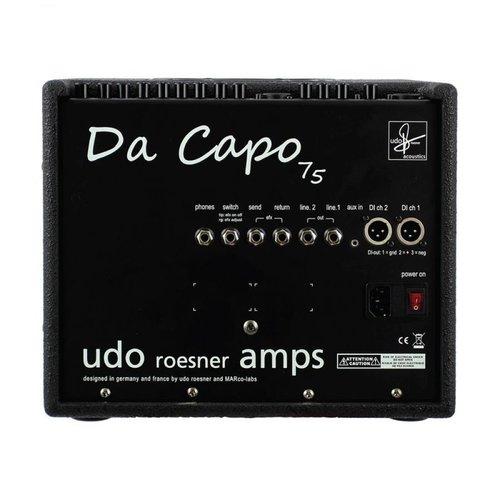 Udo Roesner Da Capo, 75w Acoustic Guitar Amplifier