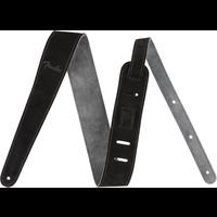 Fender Reversible Suede Strap, Black/Gray