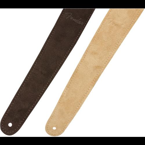 Fender Accessories Fender Reversible Suede Strap, Brown/Tan