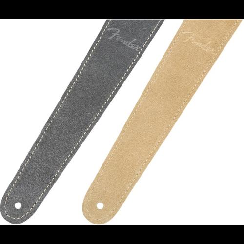 Fender Accessories Fender Reversible Suede Strap, Gray/Tan