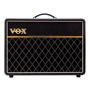 "Vox AC10C1 10W Valve Amp Combo, 1 x 10"" Celestion G10-45 Creamback Speaker, Vintage Black"