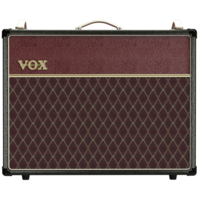 """Vox AC30C2 30W Valve Amp Combo, 2 x 12"""" Celestion G12M Greenback Speakers, Two-Tone Black and Maroon"""