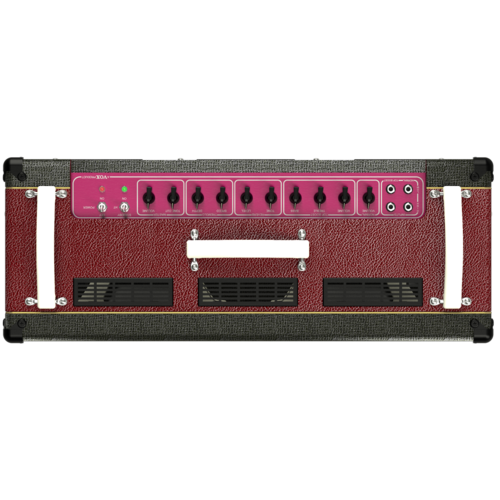 """Vox Vox AC30C2 30W Valve Amp Combo, 2 x 12"""" Celestion G12M Greenback Speakers, Two-Tone Black and Maroon"""