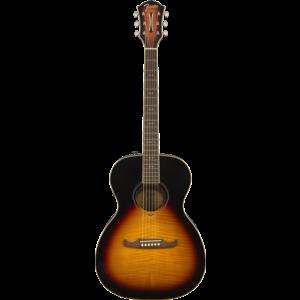 Fender FA-235E Electro-Acoustic, Flame Maple, Sunburst