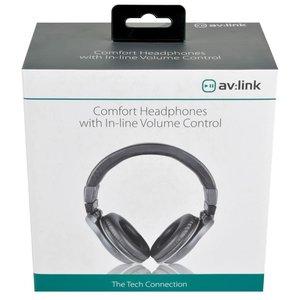 AV:Link Comfort Headphones with In-line Volume Control