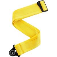 D'Addario Auto Lock Guitar Strap, Mellow Yellow