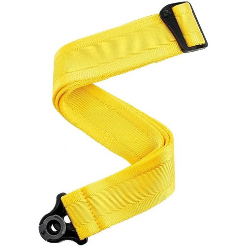 D'Addario D'Addario Auto Lock Guitar Strap, Mellow Yellow