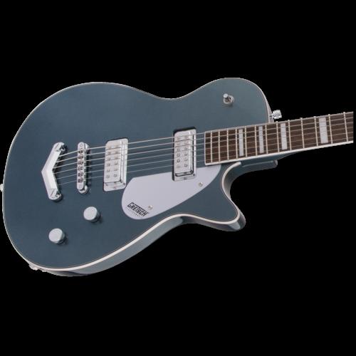 Gretsch G5260 Electromatic® Jet™ Baritone with V-Stoptail, Laurel Fingerboard, Jade Grey Metallic