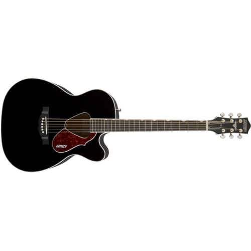 Gretsch G5013CE Rancher™ Jr. Cutaway Acoustic Electric, Fishman® Pickup System, Black