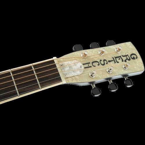 Gretsch G9220 Bobtail™ Round-Neck A.E., Mahogany Body Spider Cone Resonator Guitar, Fishman® Nashville Resonator Pickup, 2-Colour Sunburst