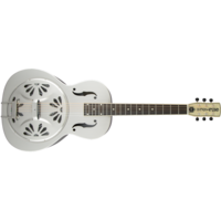 G9221 Bobtail™ Steel Round-Neck A.E., Steel Body Spider Cone Resonator Guitar, Fishman® Nashville Resonator Pickup