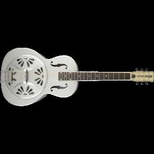 G9221 Bobtail™ Steel Round-Neck A.E., Steel Body Spider Cone Resonator Guitar, Fishman® Nashville Resonator Pickup