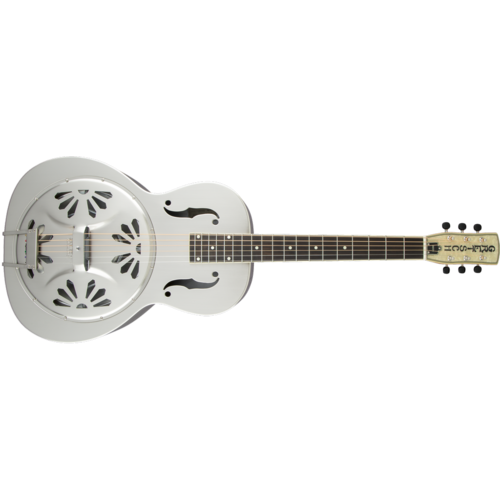 Gretsch G9221 Bobtail™ Steel Round-Neck A.E., Steel Body Spider Cone Resonator Guitar, Fishman® Nashville Resonator Pickup