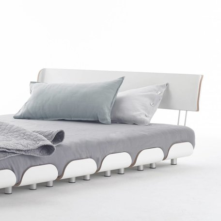 Bed: Backrest 140 cm