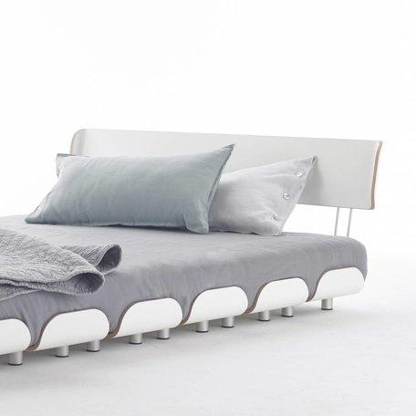 Stadtnomaden Bett: Tiefschlaf Rückenlehne 140 cm