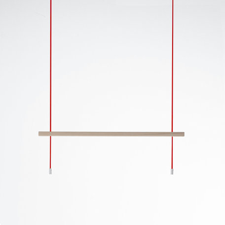 Rack: Feiner Strick | Ash - Red