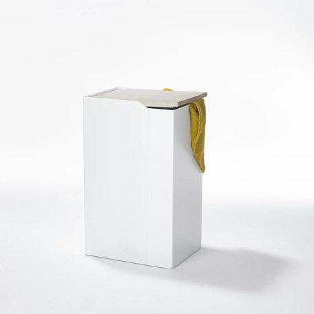 Behälter: Sammler L- Weiß - Esche