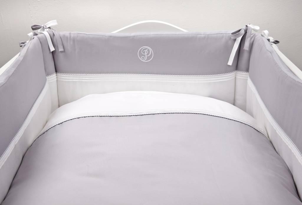 Duvet Cover & Pillow case Oxford Grey-3