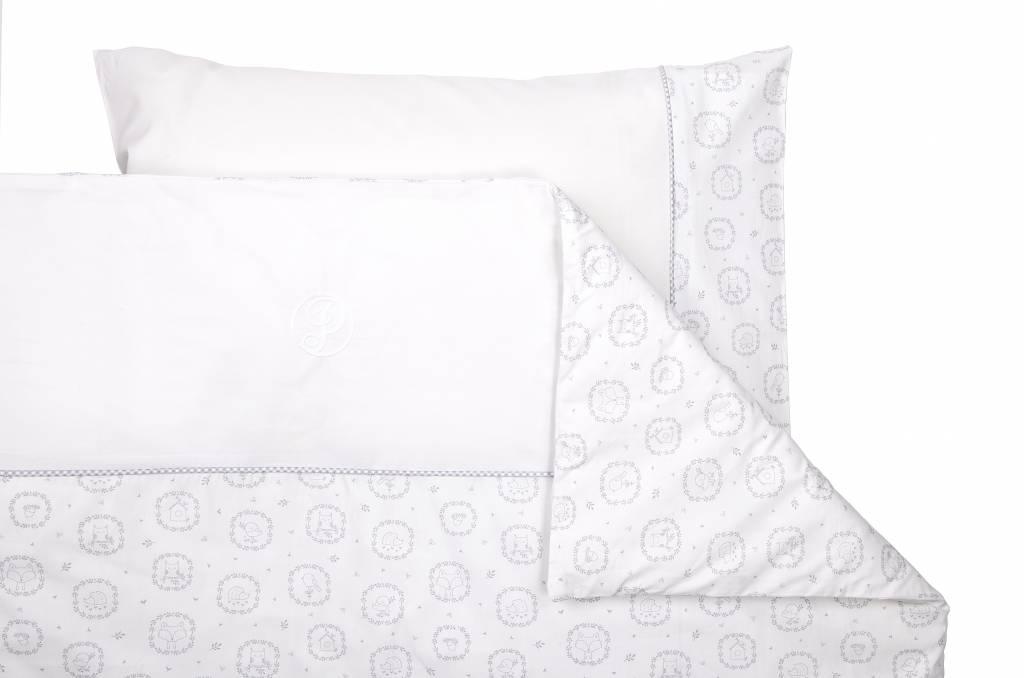 Duvet Cover & Pillow case Little Forest Grey-3